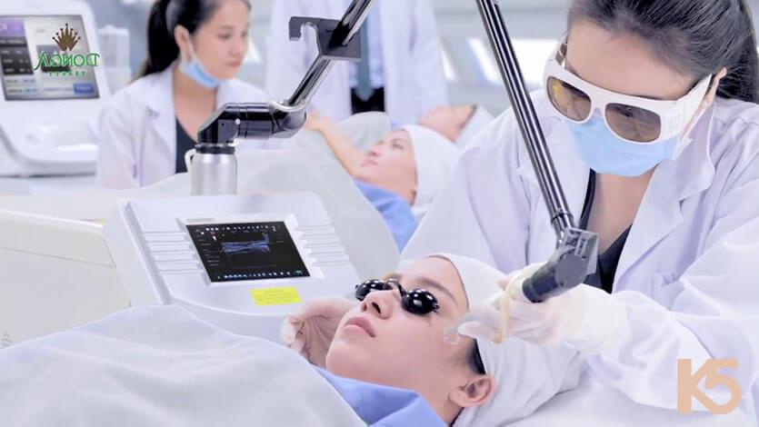 Điều trị nám bằng phương pháp melasreno tại thẩm mỹ viện Đông Á