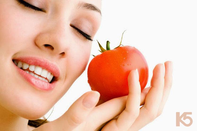 Bí quyết trị nám da bằng cà chua