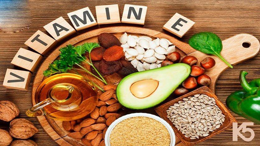 Bổ sung nhóm thực phẩm vitamin e