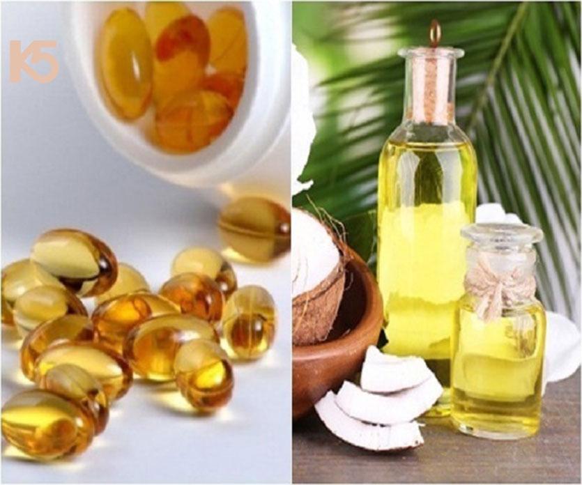 Cách làm mặt nạ dầu dừa và vitamin e
