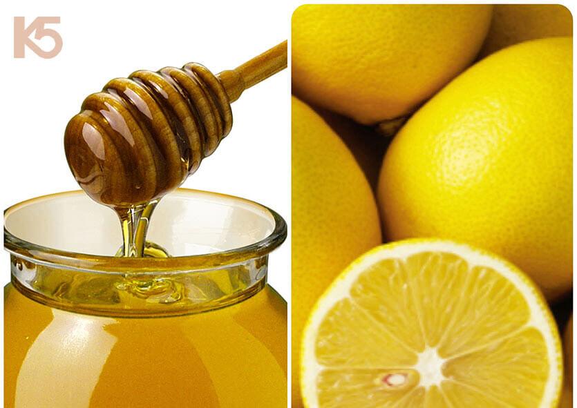Hỗn hợp chanh mật ong làm giảm nám