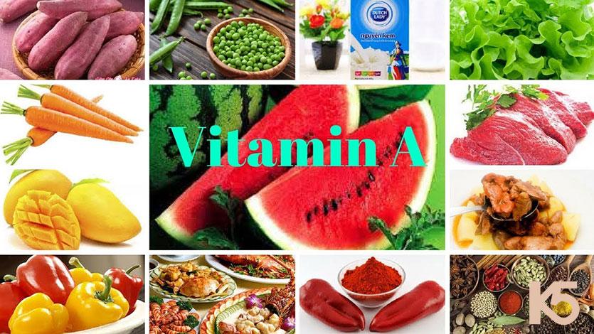 Bổ sung nhóm thực phẩm vitamin A giúp xóa mờ vết nám