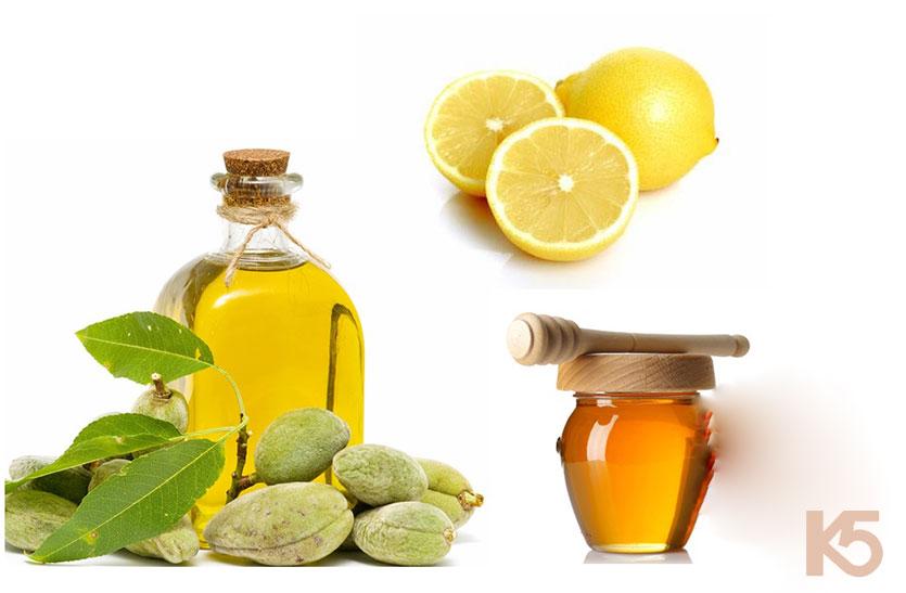 Trị nám da bằng chanh, mật ong và dầu oliu
