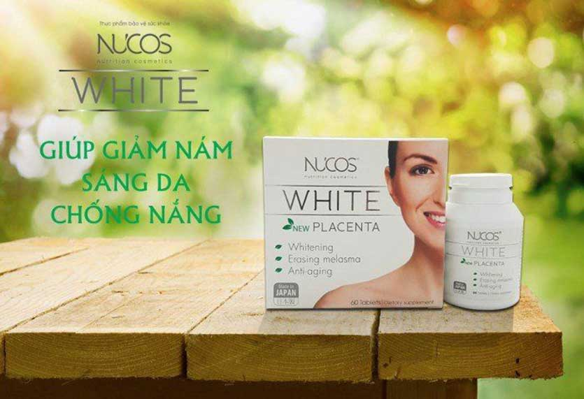Vien uong Nucos White Placenta