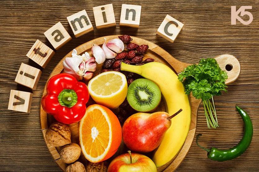 Vitamin C giúp làm giảm sự xuất hiện các vết thâm nám