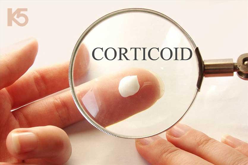 Da dễ bị nghiện chất Corticoid