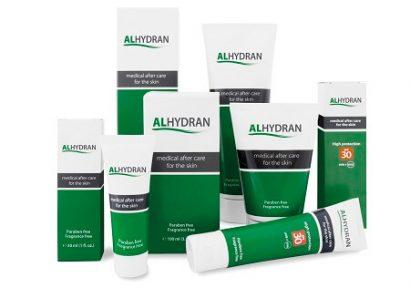 Alhydran làm dịu, phục hồi và tái tạo da do cháy nắng