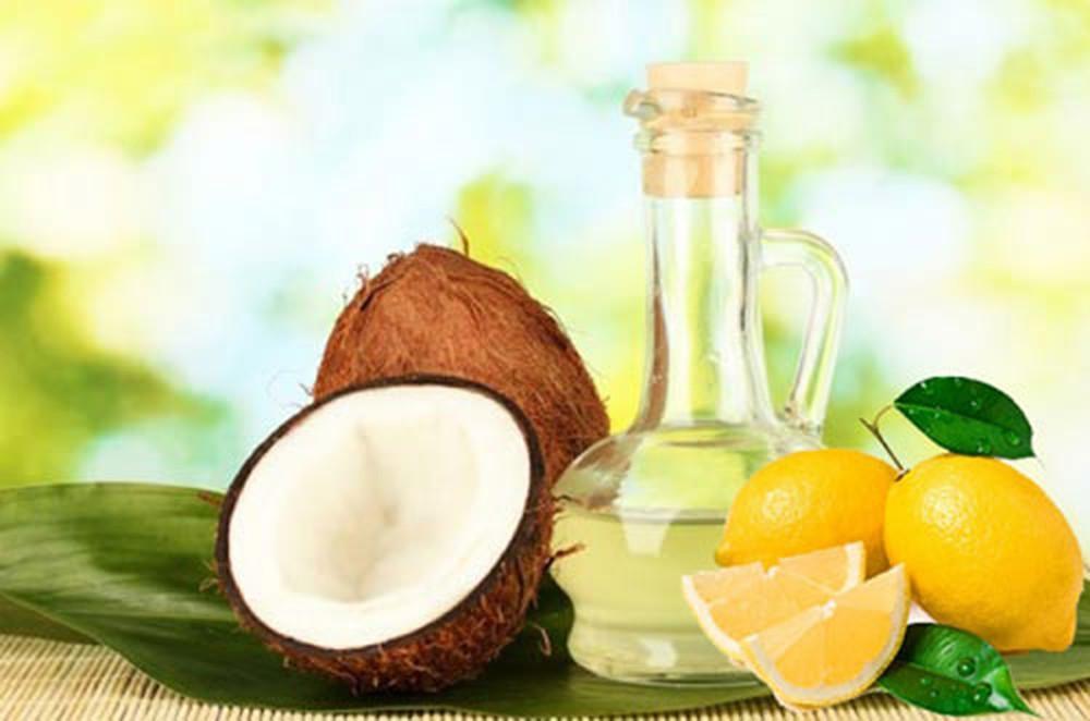 Cách trị nám da bằng dầu dừa với chanh