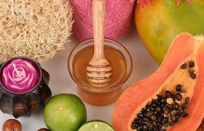 Đu đủ, mật ong và chanh