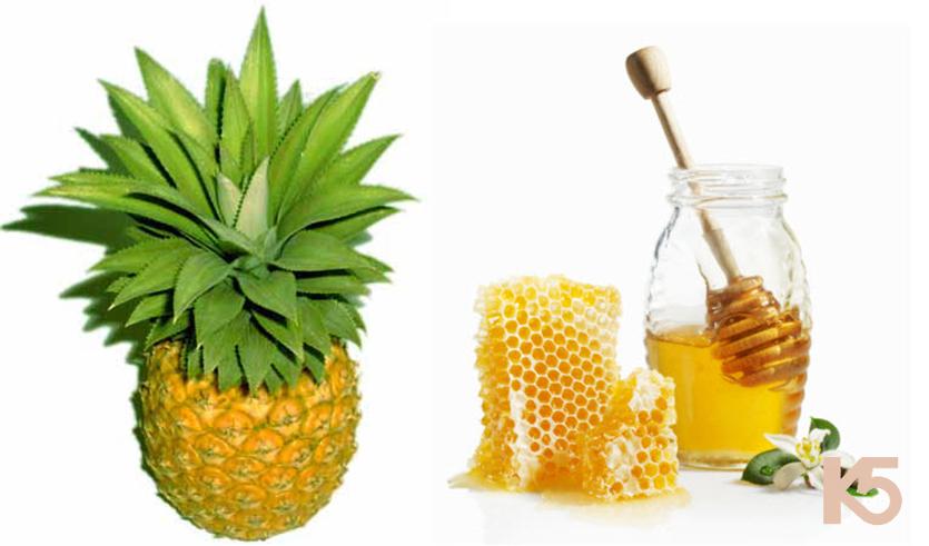 Dứa và mật ong