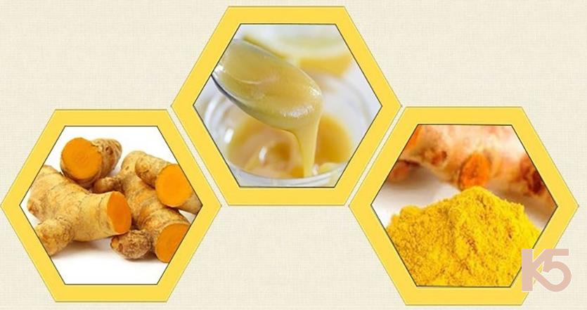 Sữa ong chúa và nghệ