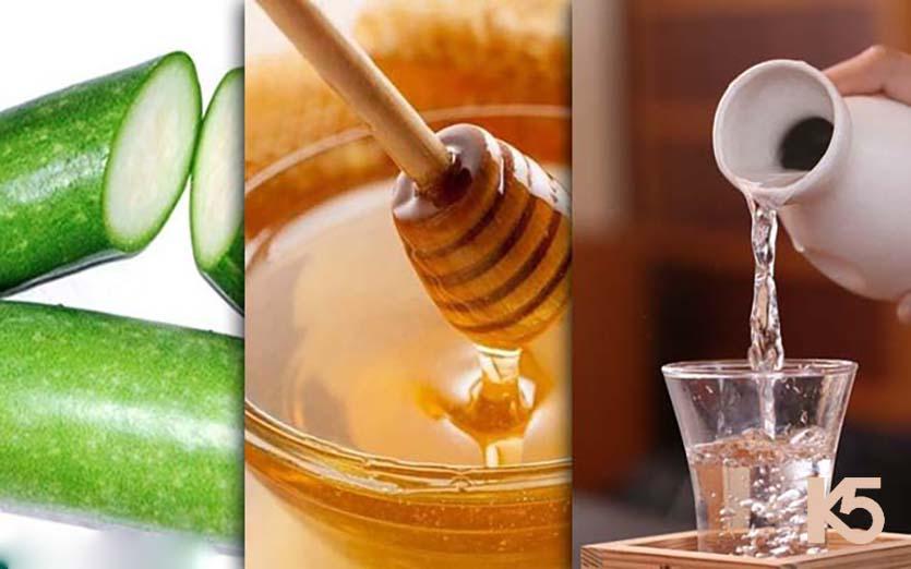 Cách trị nám bằng bí đao và mật ong, rượu trắng