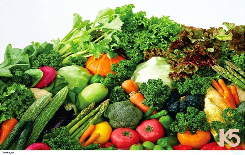 Cách trị nám bằng rau củ quả