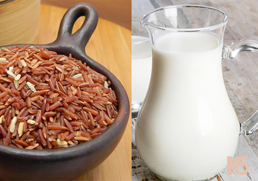 Gạo lứt sữa tươi