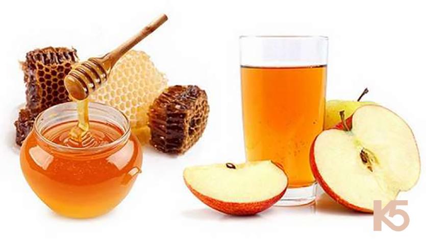 Giấm táo và mật ong