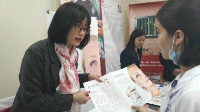 K5 tham dự hội nghị da liễu toàn quốc tại Bệnh Viện Da Liễu Trung Ương