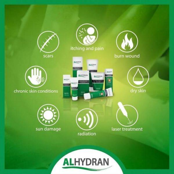 Các trường hợp sử dụng alhydran